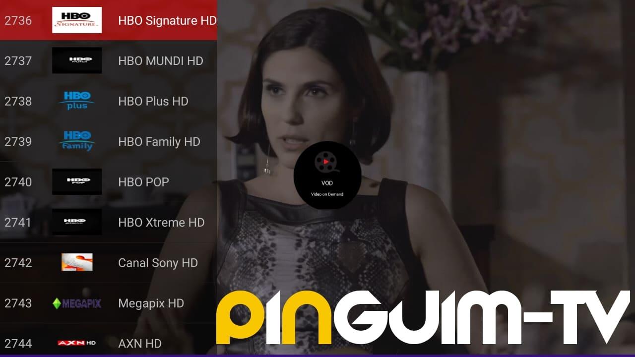 تطبيق الكبار Pinguim لمشاهدة قنوات الستلايت العالمي مجانا
