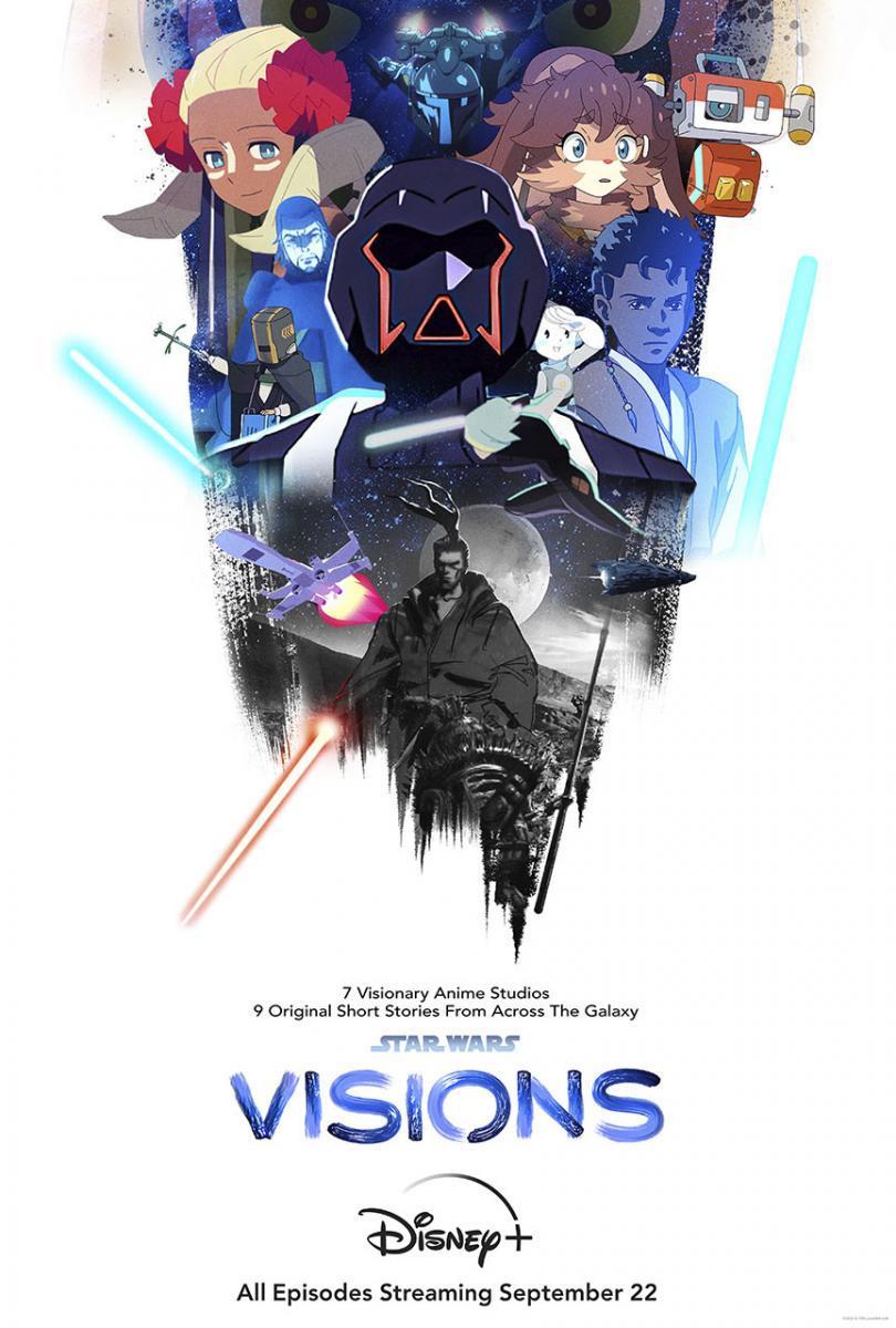 Star Wars: Visions Temporada 1 Completa 1080p Dual Latino