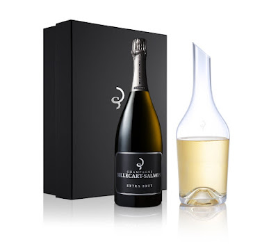 Champagne: the Magnum Carafe Gift Set by BILLECART-SALMON