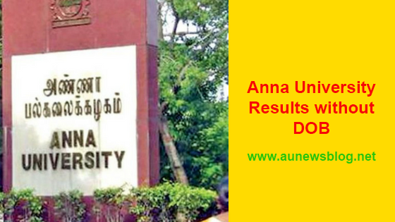 Anna University Results without DOB [New Method]