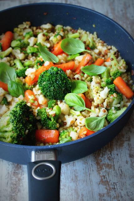 WOLL,woll szafir,e gustus,kaszotto z warzywami,dieta,zdrowe odzywianie,
