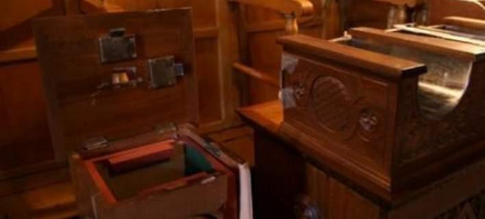 31χρονος συνελήφθη ενώ έκλεβε το παγκάρι  από παρεκκλήσι στο Παλιούρι