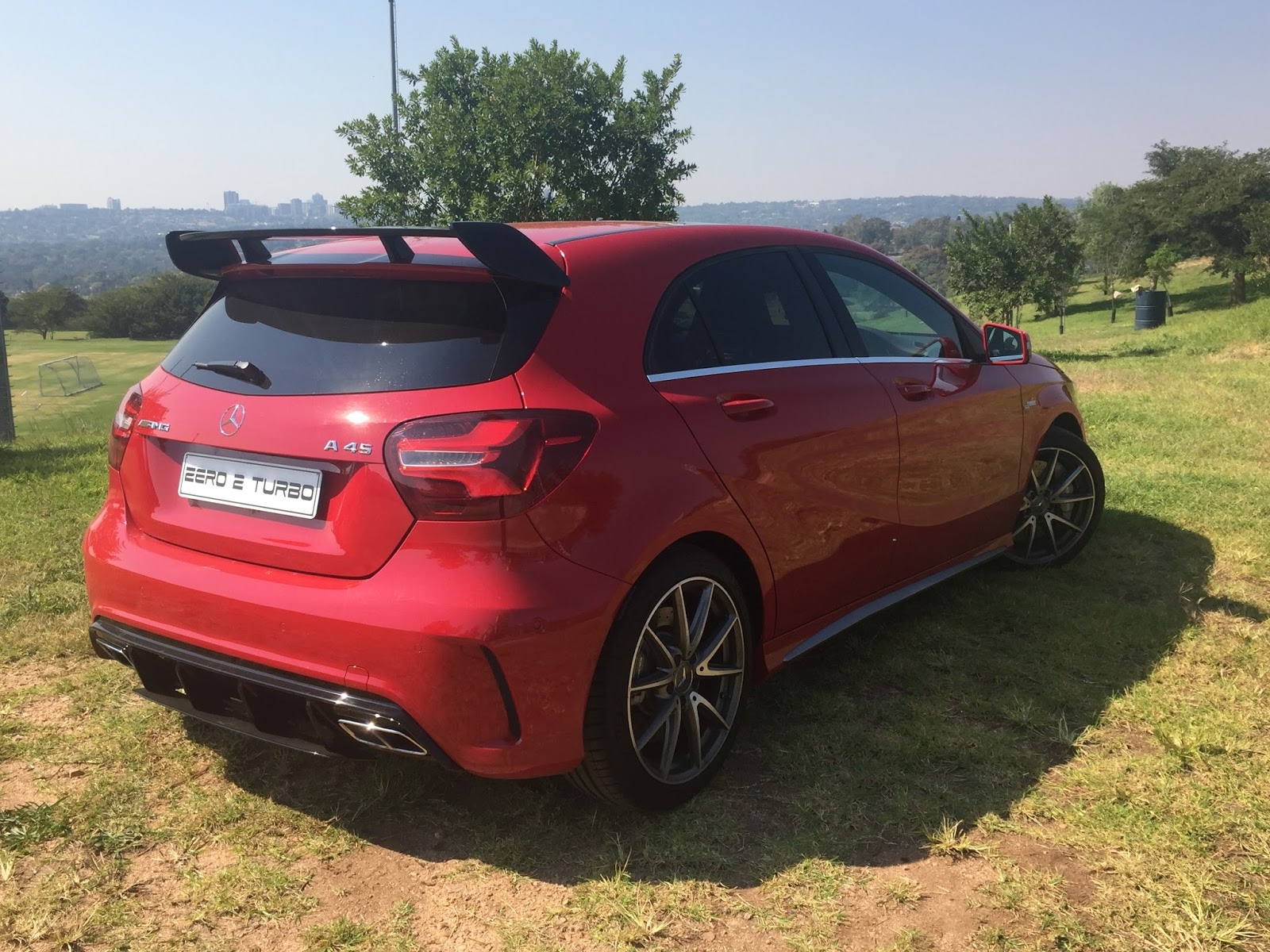 Driven mercedes amg a45 for Mercedes benz south africa