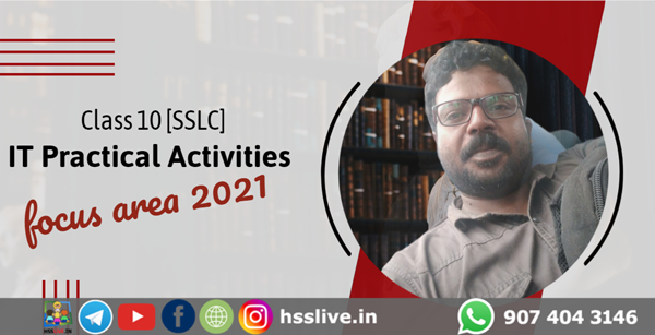 class 10 sslc IT lab activities solved