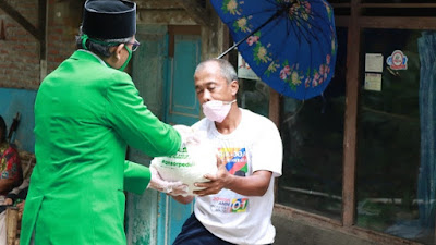 Ansor Banser Purworejo Salurkan Bantuan Ke 9 Kecamatan di Kabupaten Purworejo
