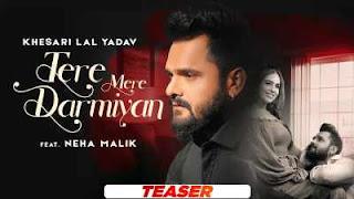 Tere Mere Darmiyan Lyrics + Translation – KHESARI LAL YADAV | Neha Malik