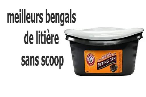 best scoop free litter box bengals
