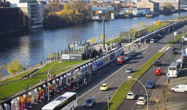 Muro de Berlim na Alemanha