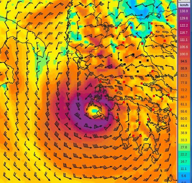 3 - Πρόγνωση Ελλάδας-Θεσσαλίας 17-18/9/2020 (+χάρτης βροχής)