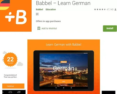 Aplikasi belajar bahasa jerman di Android-1