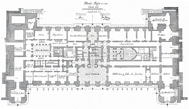 The Devoted Classicist Palacio de Liria The Madrid Residence Of – Harewood House Floor Plan