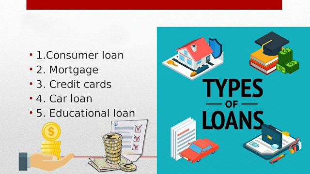 Types of Consumer Credit & Loans
