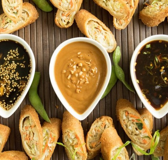 TRIO OF ASIAN DIPPING SAUCES #dinner #dressing