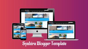 Syahira Magazine Responsive Blogger Template - Responsive Blogger Template