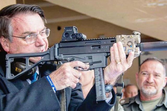 MT está entre os que mais registraram novas armas em 2019