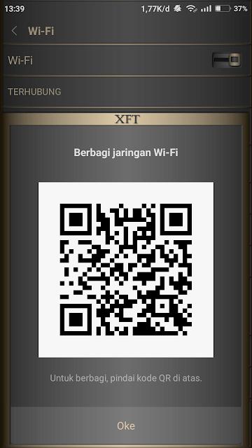 Berbagi sandi- Wi-Fi-dengan-kode QR