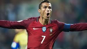 Jugador Cristiano Ronaldo Portugal
