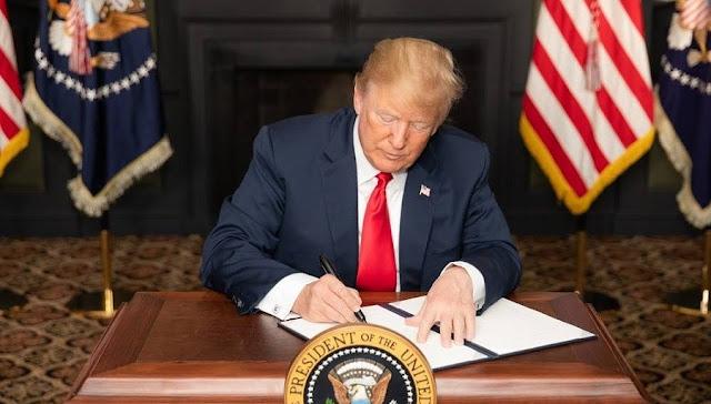 """Tổng thống Trump ký đạo luật """"Sáng kiến Bảo vệ và Tăng cường Đồng minh Quốc tế Đài Loan"""""""