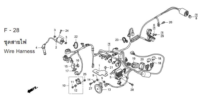 HONDA CBR150R 250R 300R零件圖: 2011-2012-2014 第二代CBR150R 零件總覽