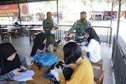 Café Meat Shop kena serbu Provos Zidam: Himbauan tentang COVID-19 dan bagi Masker Gratis