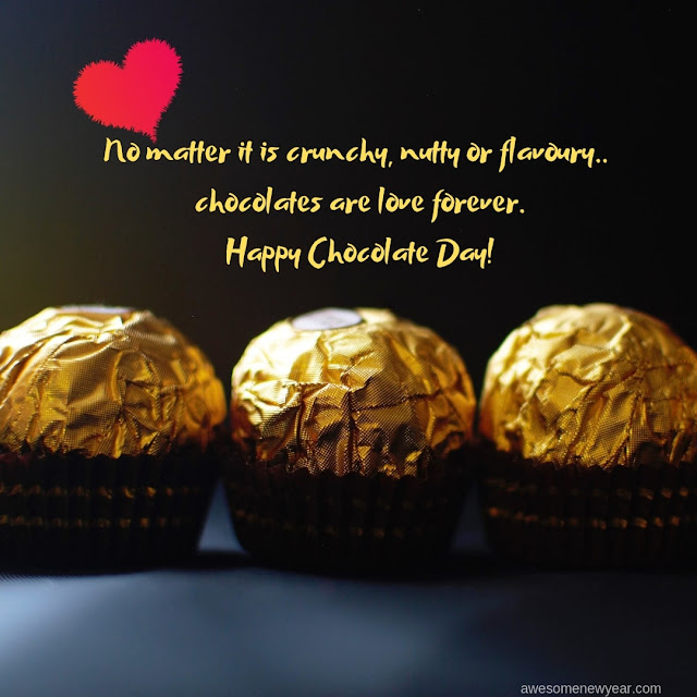 #HappyChocolateDay2019 Wishes and Messages to send your Girlfriend