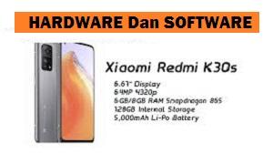 Xiaomi Redmi K30S Harga dan Spesifikasi