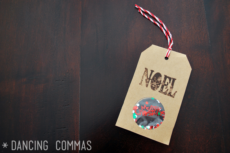 Dancing Commas: Crafternoon Project #5: Confetti Gift Tags