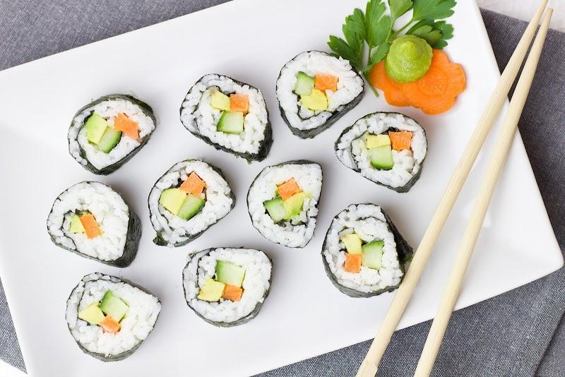 3 Variation of Vegetable Sushi