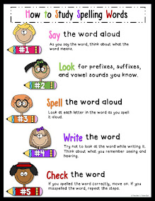 FREE How to Study Spelling Words