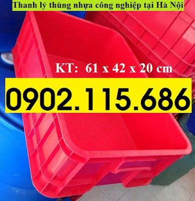 Thanh lý thùng nhựa công nghiệp tại hà nội, khay nhựa công nghiệp tại hà nội, hộp nhựa công nghiệp tại hà nội, 1