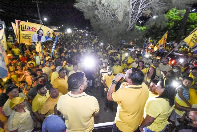 No Agreste, Ezequiel participa de grandes mobilizações em Nova Cruz e Canguaretama