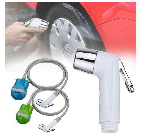 Portable Car Washer Shower Water Pumps Outdoor USB Rechargeable Cleaner Sprayer
