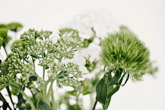 Ynas Design Blog, Blumen Dekoration