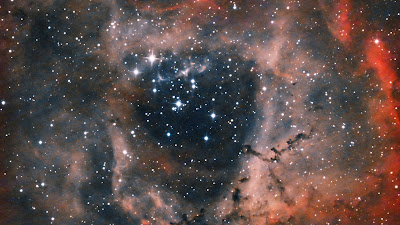 Rosette Nebula, Cosmos, Galaxy, Stars, Space