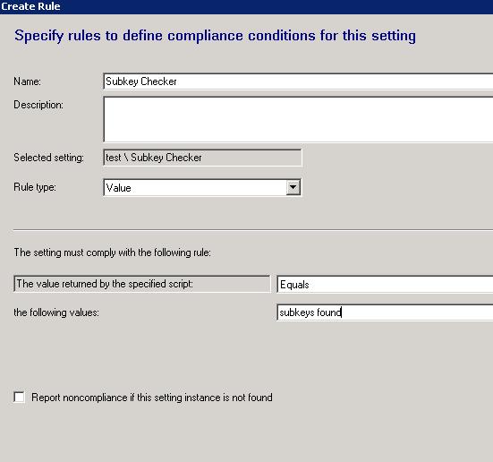 Sccm Baseline Remediation Registry Key