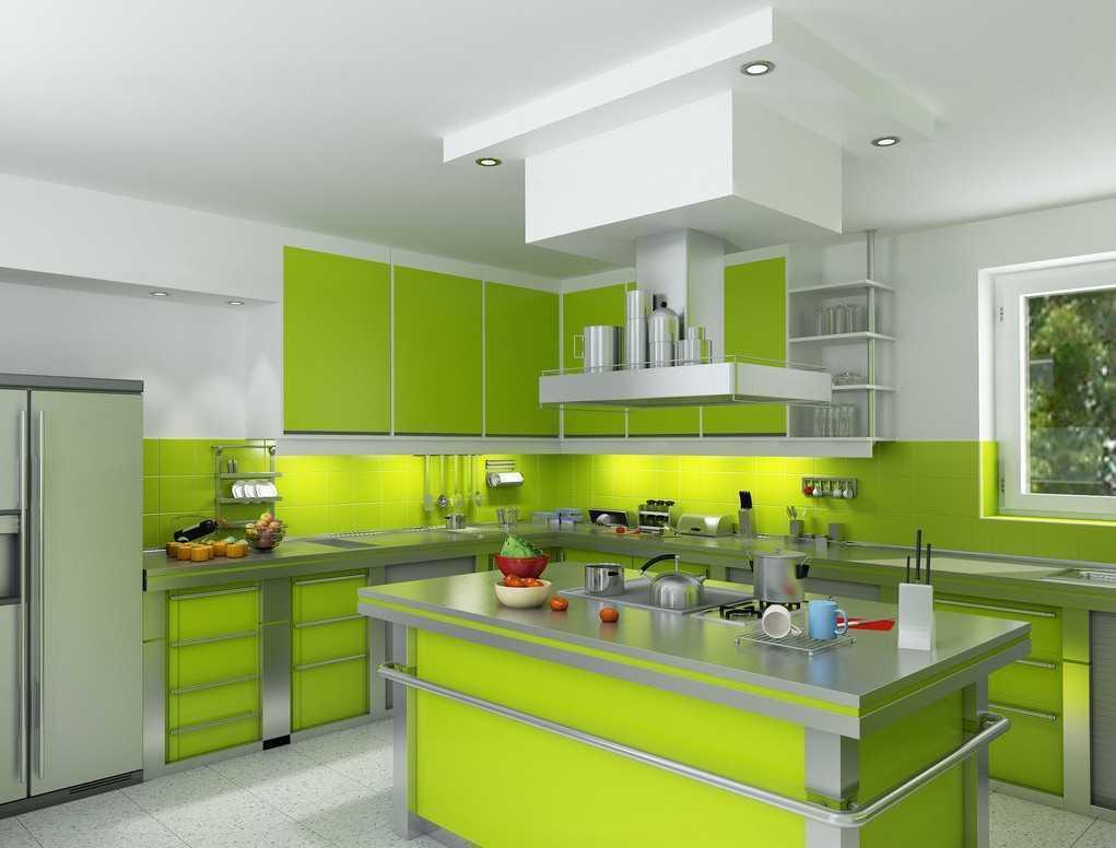 Desain Minimalis Untuk Dapur Yang Sempit Dari Jendela Rumah