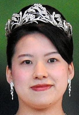 diamond wreath tiara mikimoto princess ayako takamado japan