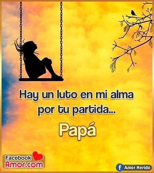 frases de luto papá