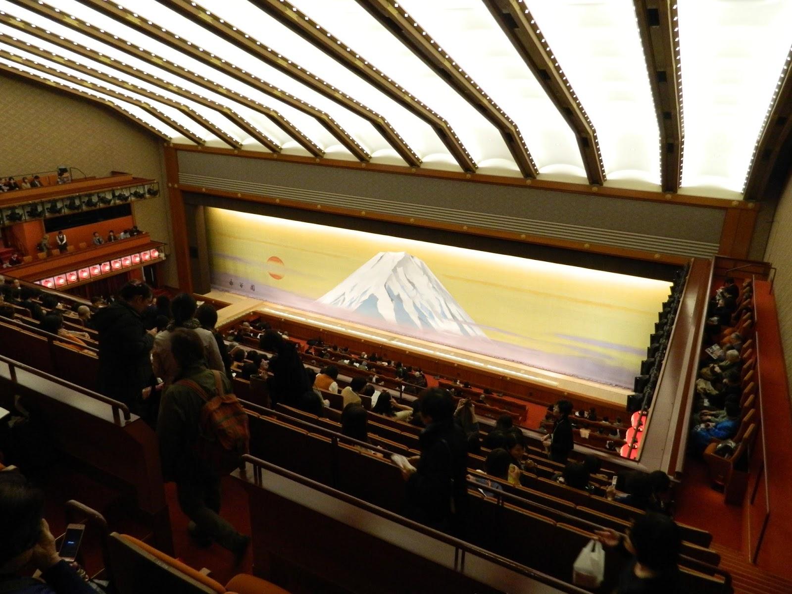 Nihon Fan: Visiting Kabuki-za Theater in Tokyo