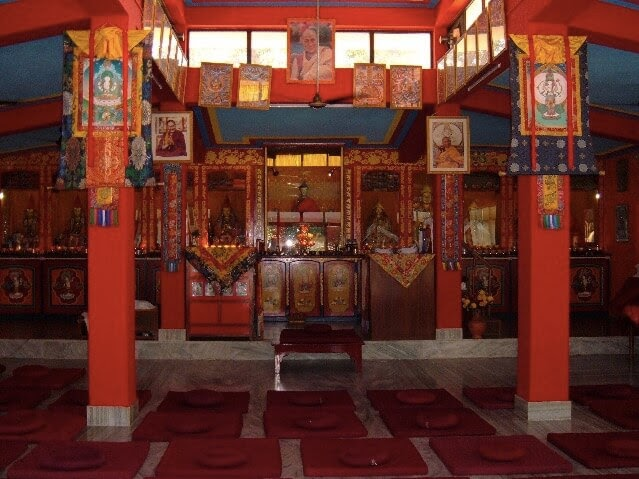 Root Institute Main Gompa