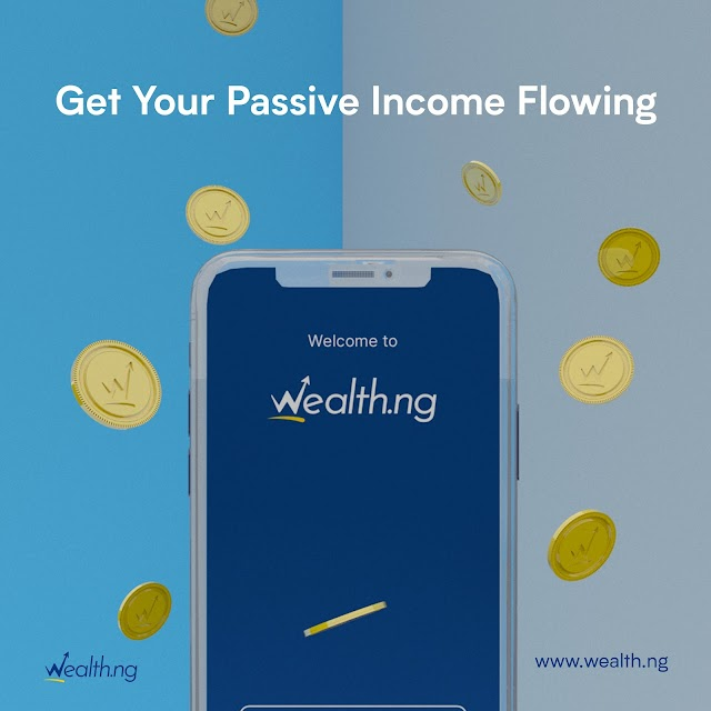 Start Your Journey to Passive Income Stress Free Through Wealth.ng