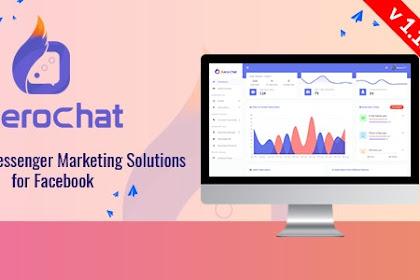 Download XeroChat v1.1.3 Nulled - Complete Messenger Marketing Software for Facebook