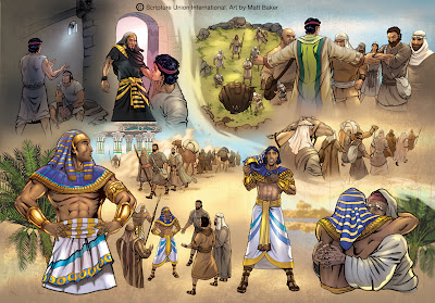 Bible 7 Evidence Joseph Imhotep Opposition