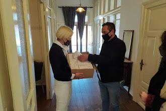 Δωρεά 500 μάσκες στην Ένωση Συνοριακών Φυλάκων Ν. Καστοριάς από το Μητρώο Πολιτικών Στελεχών Ν.Δ. Δυτικής Μακεδονίας
