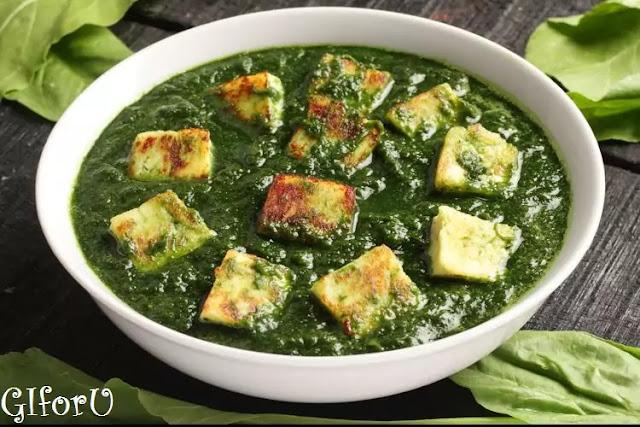palak_paneer_recipe-how to make Palak Paneer Recipe at GIforU