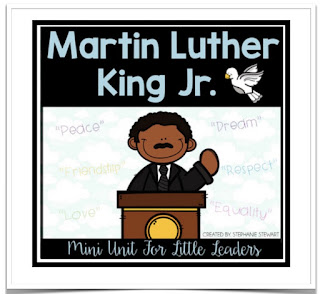 https://www.teacherspayteachers.com/Product/Martin-Luther-King-Day-Mini-Unit-478538
