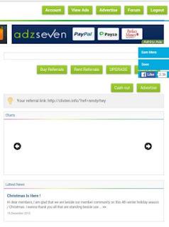 clixten ads 1mpgd Clixten.info top Ptc Site no. 1 di eMoneyspace