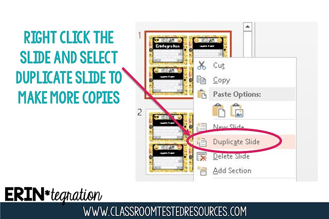 Classroom Decor Printing Tips - Did you buy a digital classroom decor set?  Here are 8 tips for editing & printing for a completely customized classroom decor theme!