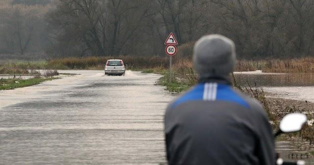 Több folyó is árad a sok eső miatt
