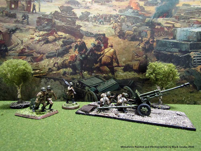 1/72 Plastic Soldier Company Russian ZiS 3 76mm Divisional Gun